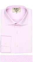 Ettore rose clair et blanc