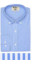 Marlow bleu et blanc